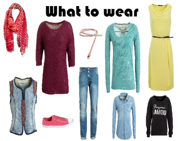 What to wear sans online 1